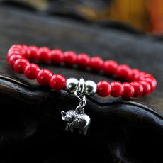 redcoralbracelet, pendantbracelet, loverbracelet, Bracelet