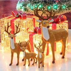 craftsantaclau, deerornament, Home Decor, Home & Living