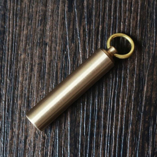 Brass, case, Outdoor, Key Chain