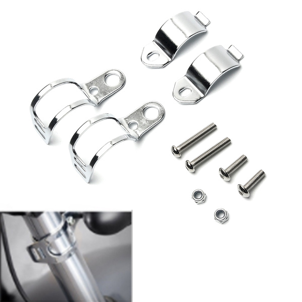 motorcycleaccessorie, chrome, lights, Mount