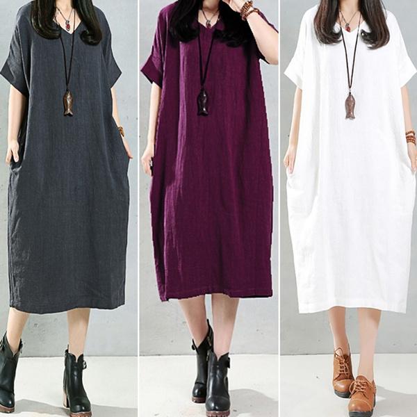 blouse, Plus Size, Necks, long dress