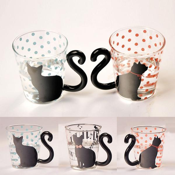 glasscup, cute, Coffee, teamug