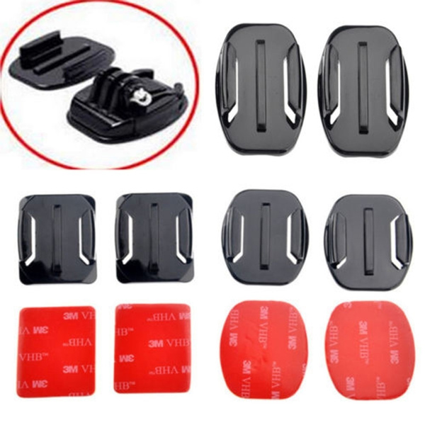 Flats, camerahelmet, cameraaccessorieskit, Stickers