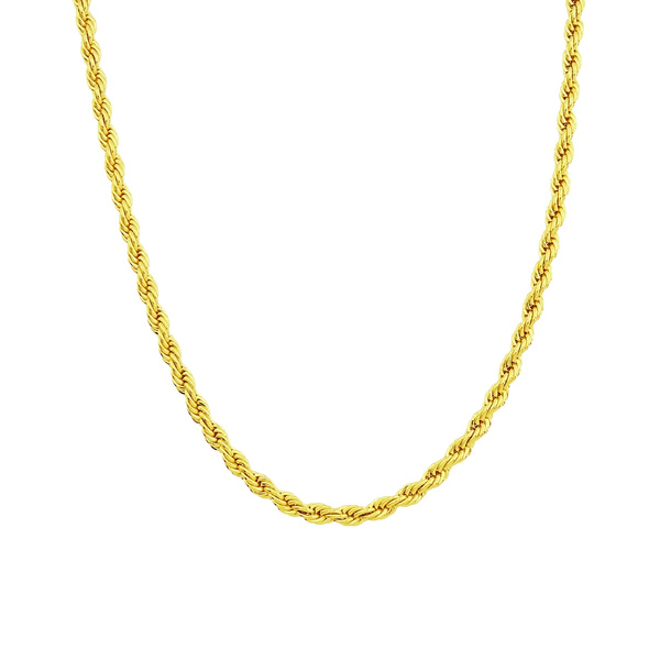 goldneckalce, Rope, ropechainnecklace, necklaces for men