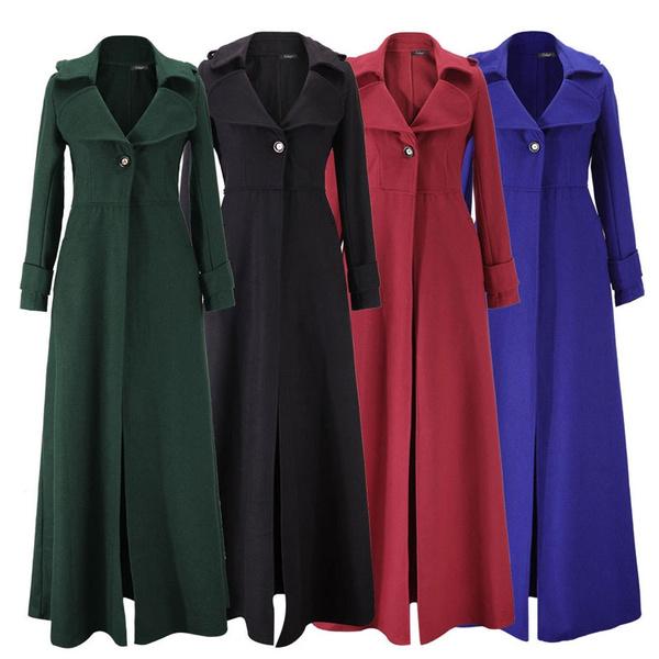 floorlengthdres, Winter, Long Coat, Coat