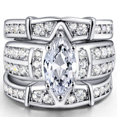 goldplated, White Gold, Silver Jewelry, 925 sterling silver
