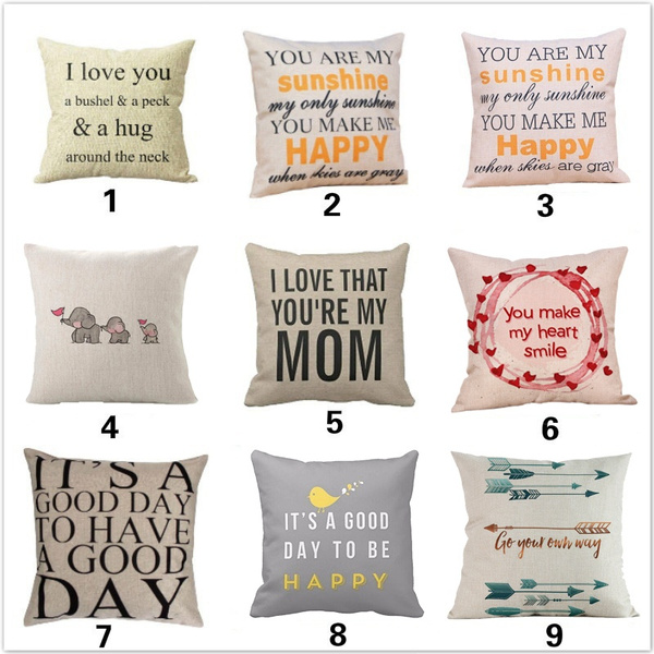 Throw Pillow case, Decor, Love, Home Decor