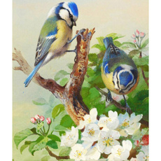 fashionhome, DIAMOND, marriageroomdecor, bluebirdsprinted