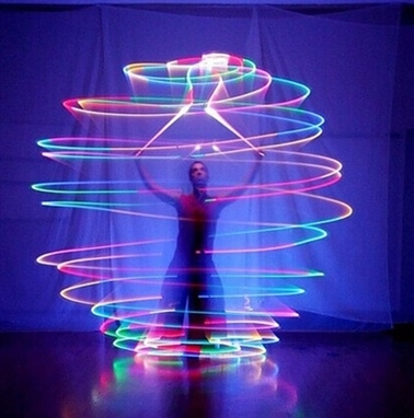 Belly Dance, Ball, light up, Colorful