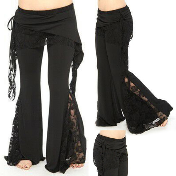 Fashion, Lace, Casual pants, pants