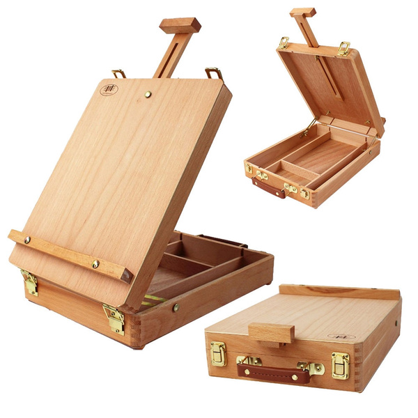 Box, Art Supplies, easel, art