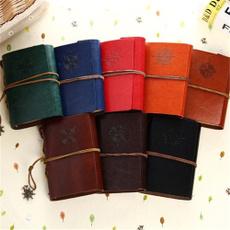 School, leather, Vintage, travelernotebook