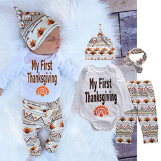 Boy, Infant, thanksgivingbabyoutfit, Boys' Clothing (Newborn-5T)