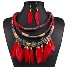 ethnicjewelry, Jewelry Set, Tassels, goldplated