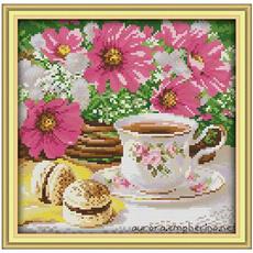 crossstitch, Coffee, Fashion, Home Decor