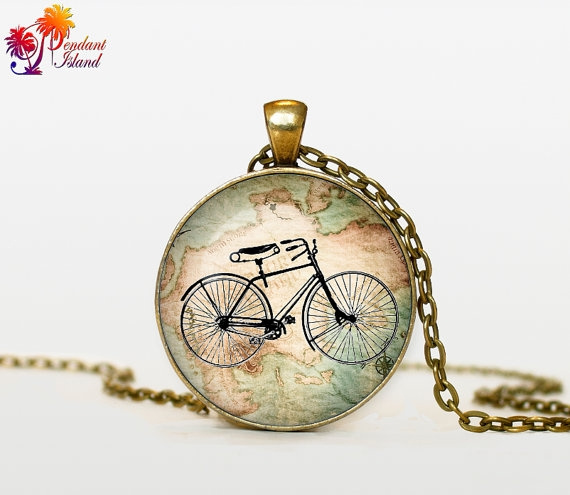 bicyclenecklace, Bicycle, Jewelry, Sports & Outdoors