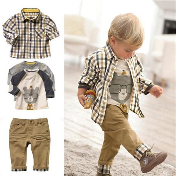 Boy, Fashion, kidsshirt, Spring