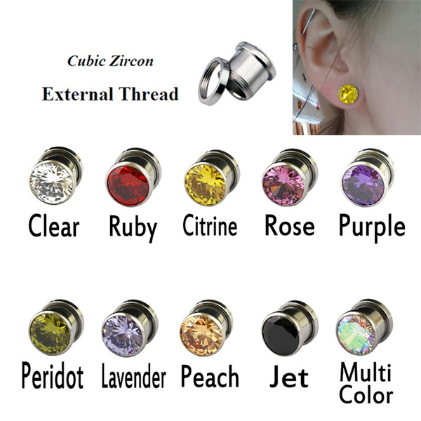 Steel, eartunnelplug, Stainless Steel, earexpander
