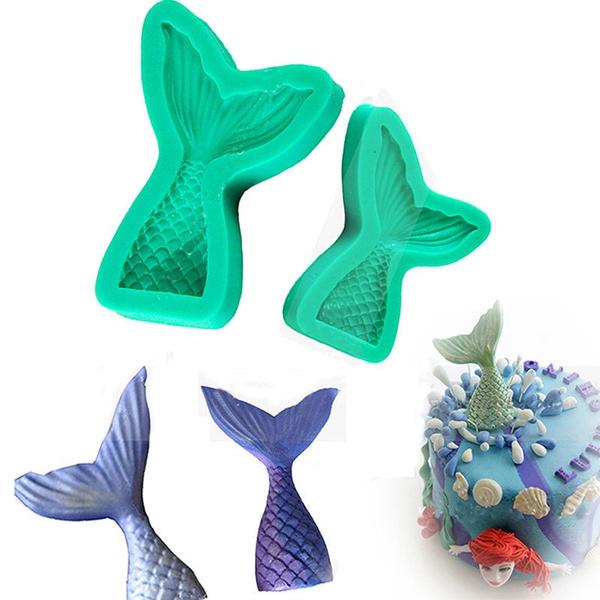 mermaidfishtail, Baking, bakingtoolsaccessorie, diycakedecoratingmold