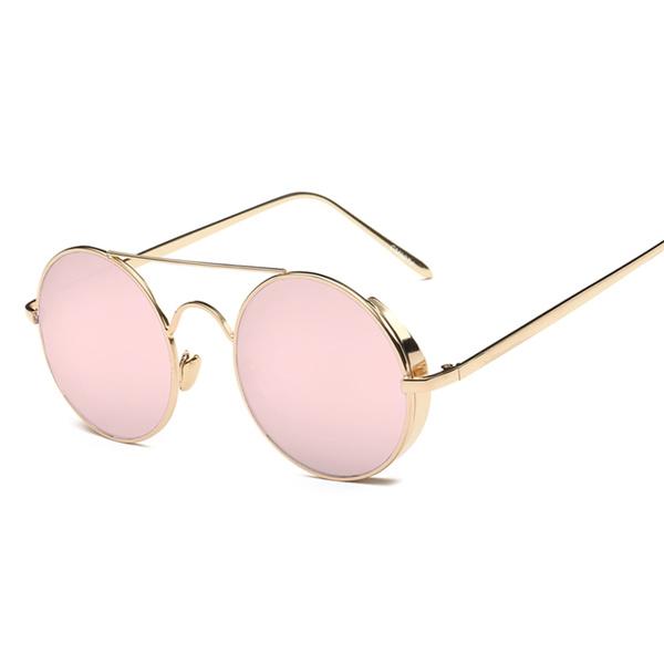 Fashion, Round Sunglasses, punk, Accessories