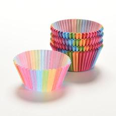 case, rainbow, Baking, cakecup