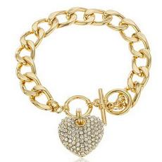 Heart, Fashion, Jewelry, Chain