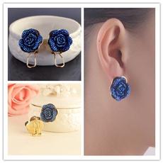 Blues, roseearring, Fashion, Jewelry