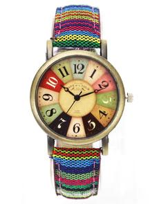 canvasband, Cloth, Movie, analog watch