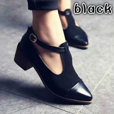 Fashion, Womens Shoes, Patchwork, Vintage
