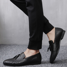 casual shoes, Outdoor, Flats shoes, leather shoes