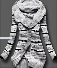 Plus Size, hooded, Sleeve, Coats & Jackets