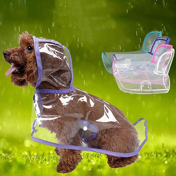 Summer, Outdoor, Waterproof, raincoatfordog