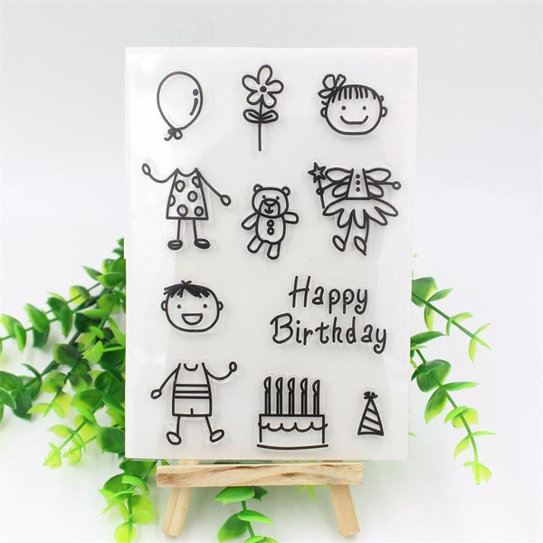 Card, Boy, birtheday, cute