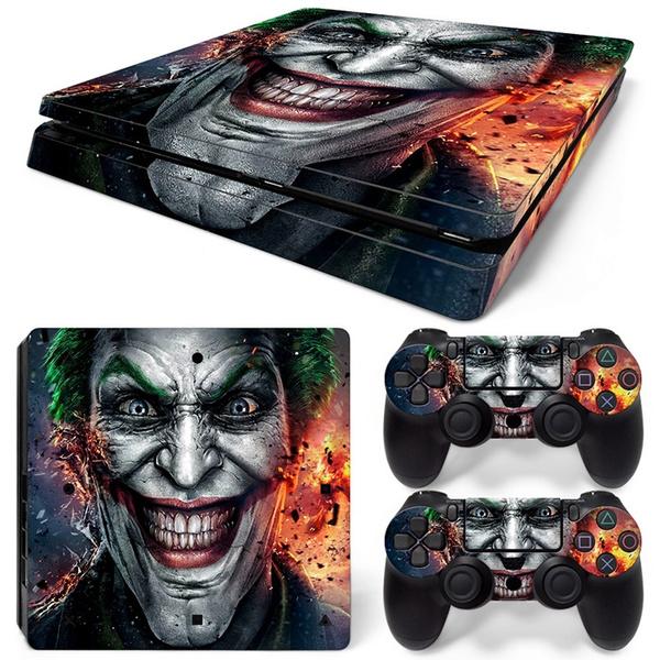 Joker, Console, sony, ps4slimskinsticker