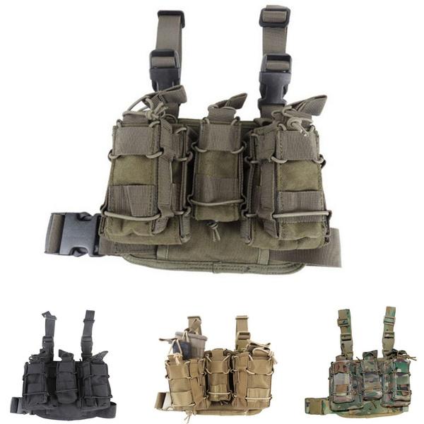 flashlightpouch, magazinepouchbag, Combat, tacticalmilitaryhuntingdroplegthighbag