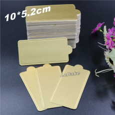 golden, hardpaper, 100pcspack, tablewareplacemat