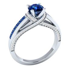 Cubic Zirconia, Blues, czring, wedding ring