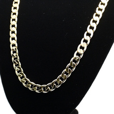 goldplated, Chain Necklace, Fashion, fashionhiphopnecklace