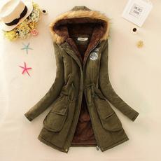 hooded, fur, Winter, Coat
