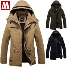 Fashion, fur, Army, windbreakercoat