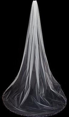 Ivory, longbridalveil, bridalveil, weddingbridalveil
