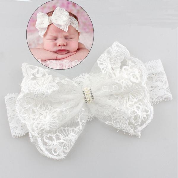 Fashion, Lace, flowerhairband, babygirlheadband