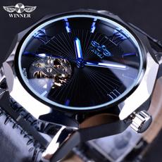 dial, Skeleton, luxurybrandwatchmen, leatherstrapwatch