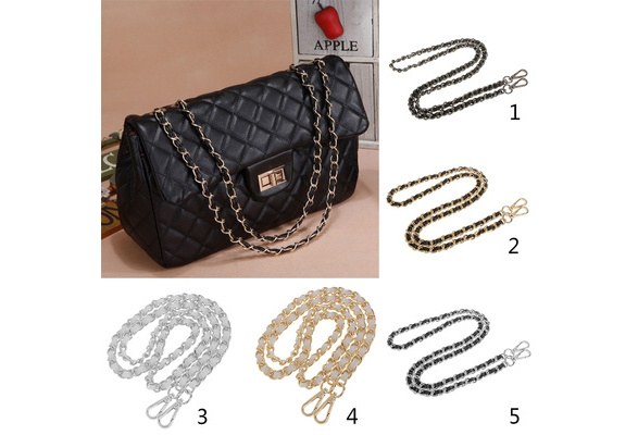 Metal Shoulder Bag Chain Strap Handle Holder Bag Chain Replacement