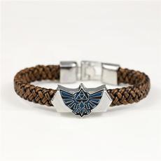 Cosplay, leatherbraidedwristbandwholesale, Wristbands, Gifts