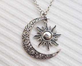 Fashion, Jewelry, Gifts, celestialmoonnecklace