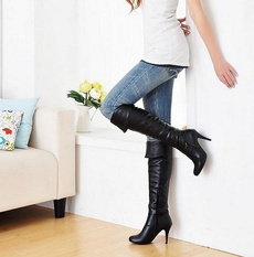 Fashion, Leather Boots, long boots, Womens Shoes