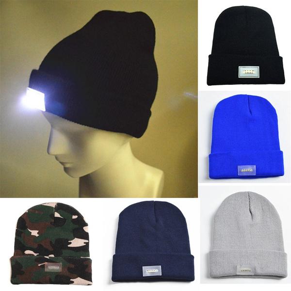Beanie, Fashion, led, Winter