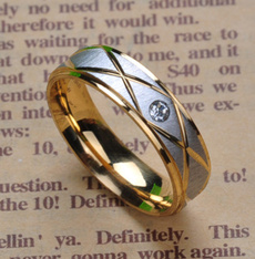 Fashion, Stainless Steel, wedding ring, Jewelry