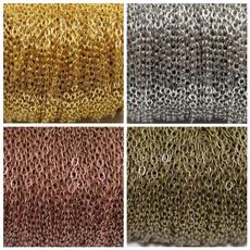 golden, cableschain, Jewelry, cableopenlinkironmetalchain